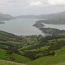 crater over akaroa