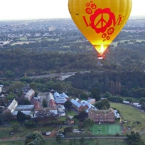 Love over Abbotsford Convent